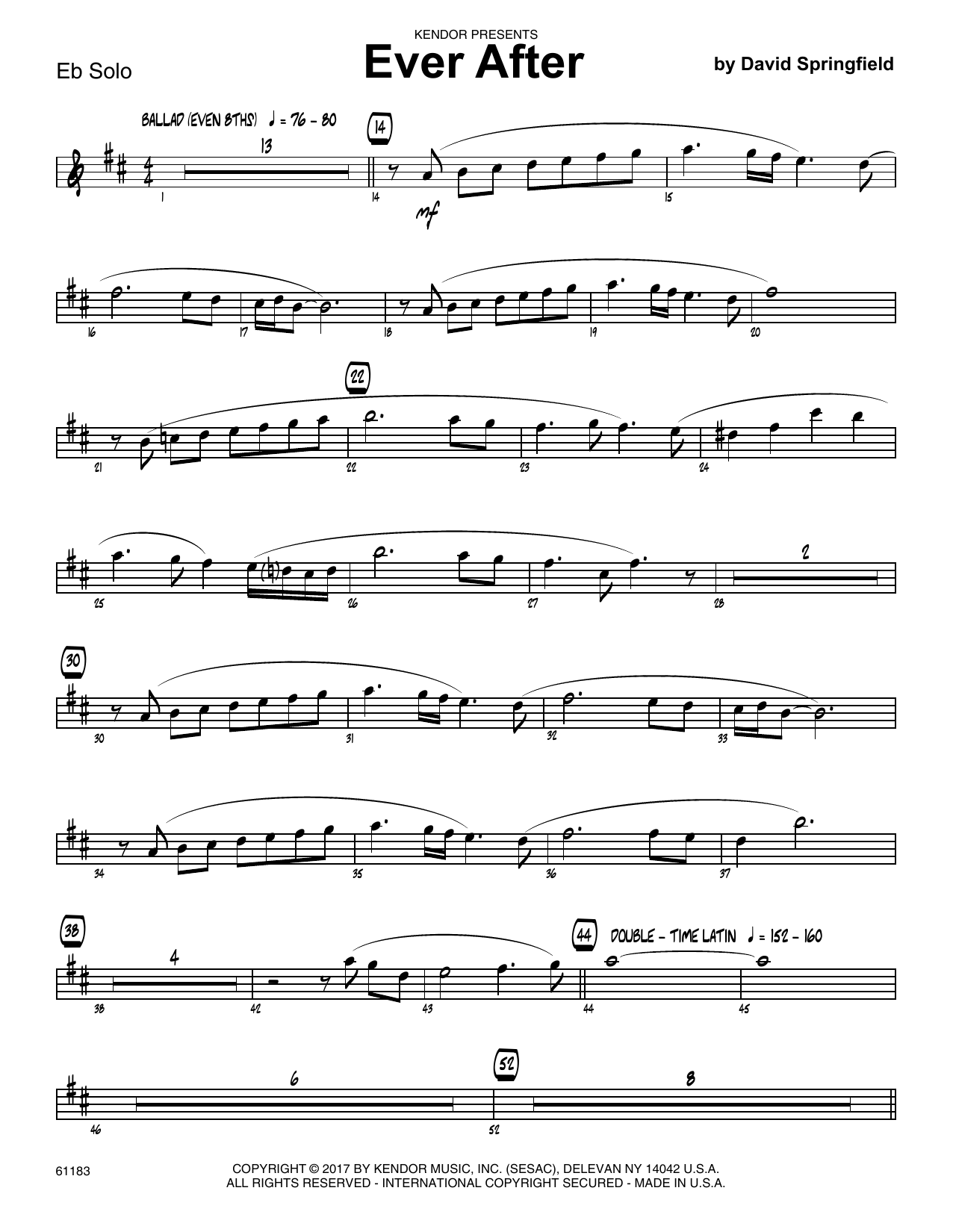 What a fool believes alto sax 1 sheet music at stantons sheet ever after solo sheet alto sax hexwebz Choice Image