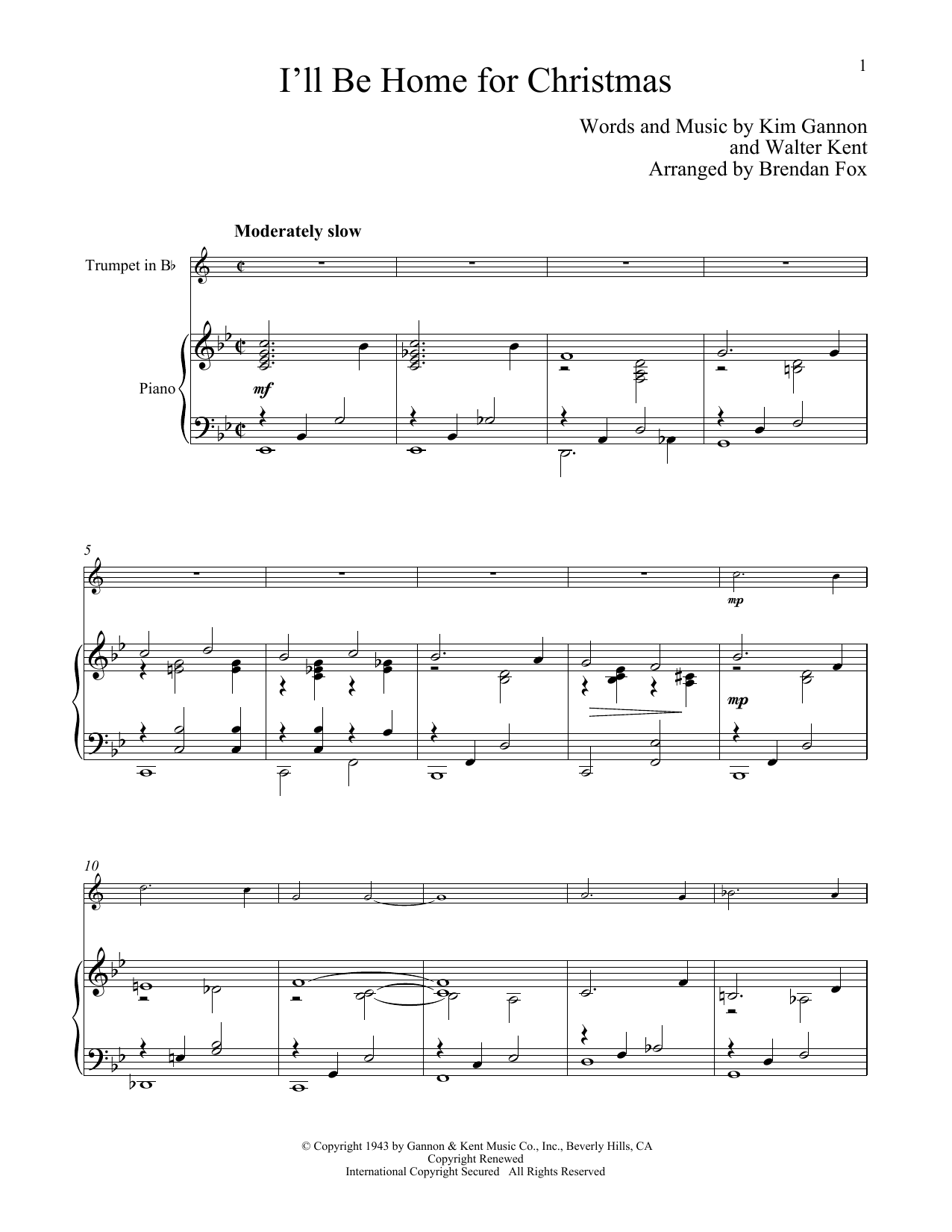 Sheet Music Digital Files To Print - Licensed Carol Digital Sheet Music