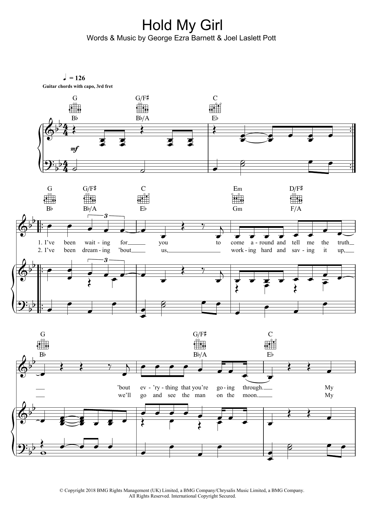 Creedence Clearwater Revival Bad Moon Rising Sheet Music At