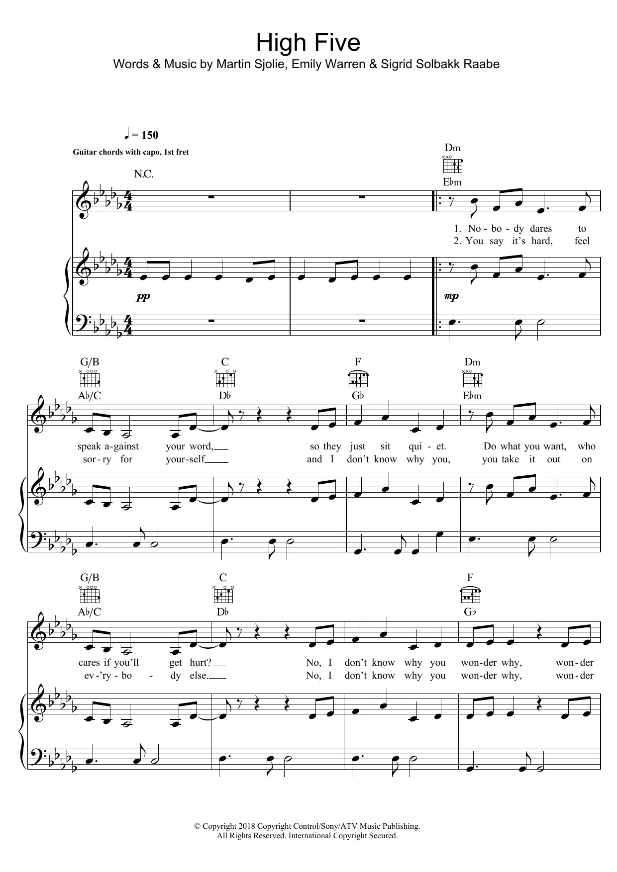 heart damn yankees sheet music pdf