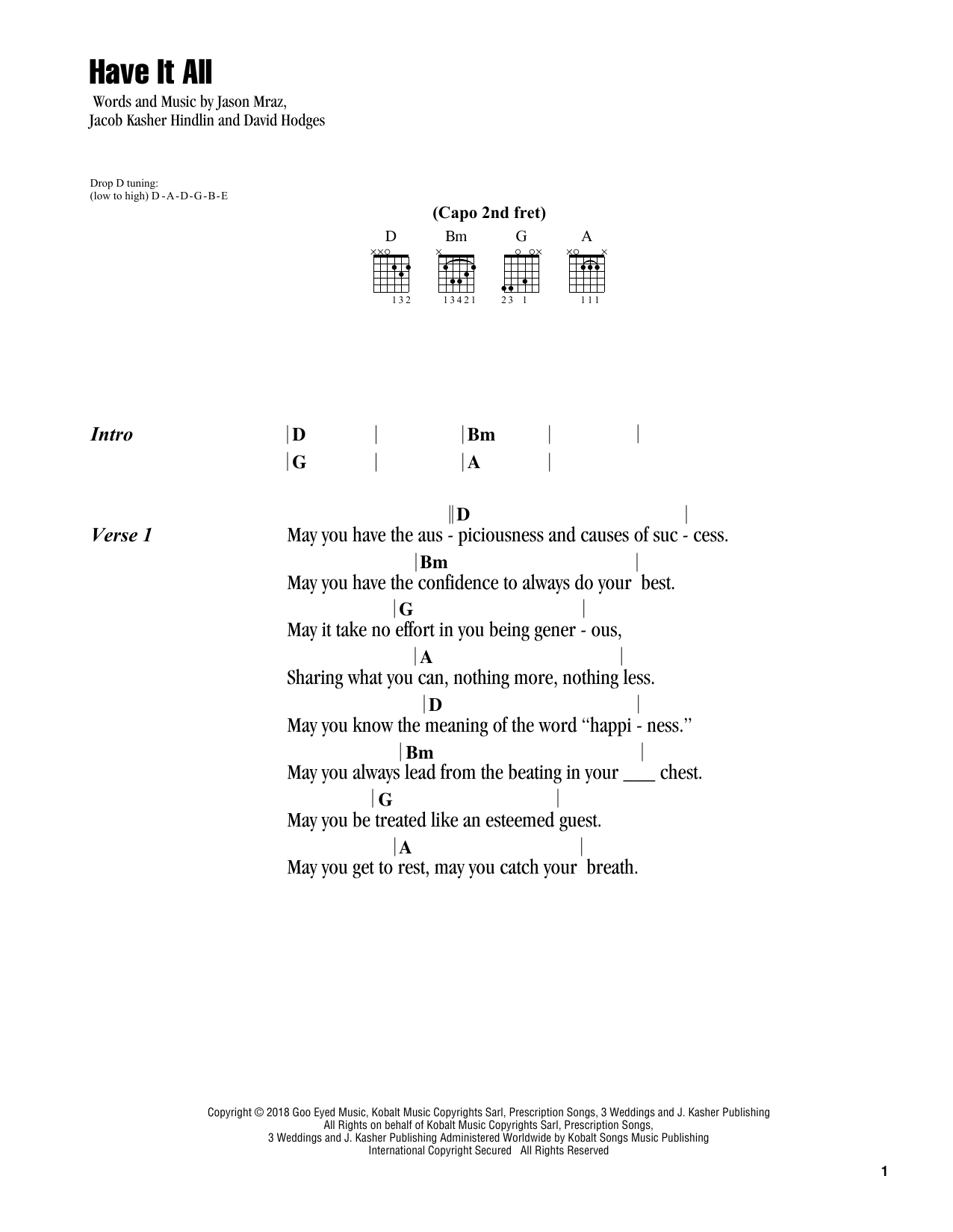 Sheet Music Digital Files To Print Licensed Jason Mraz Digital