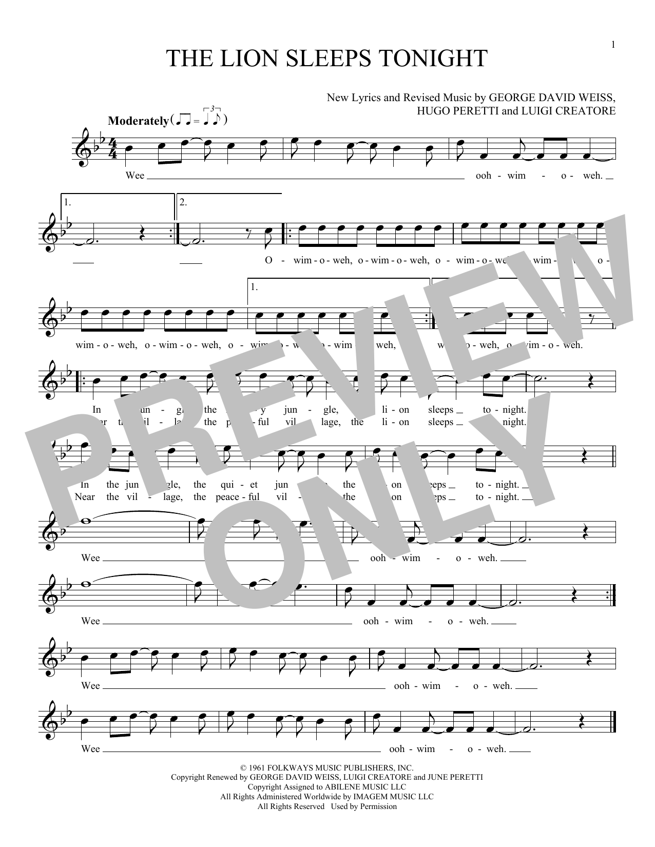 Sheet Music Digital Files To Print Licensed Luigi Creatore Digital