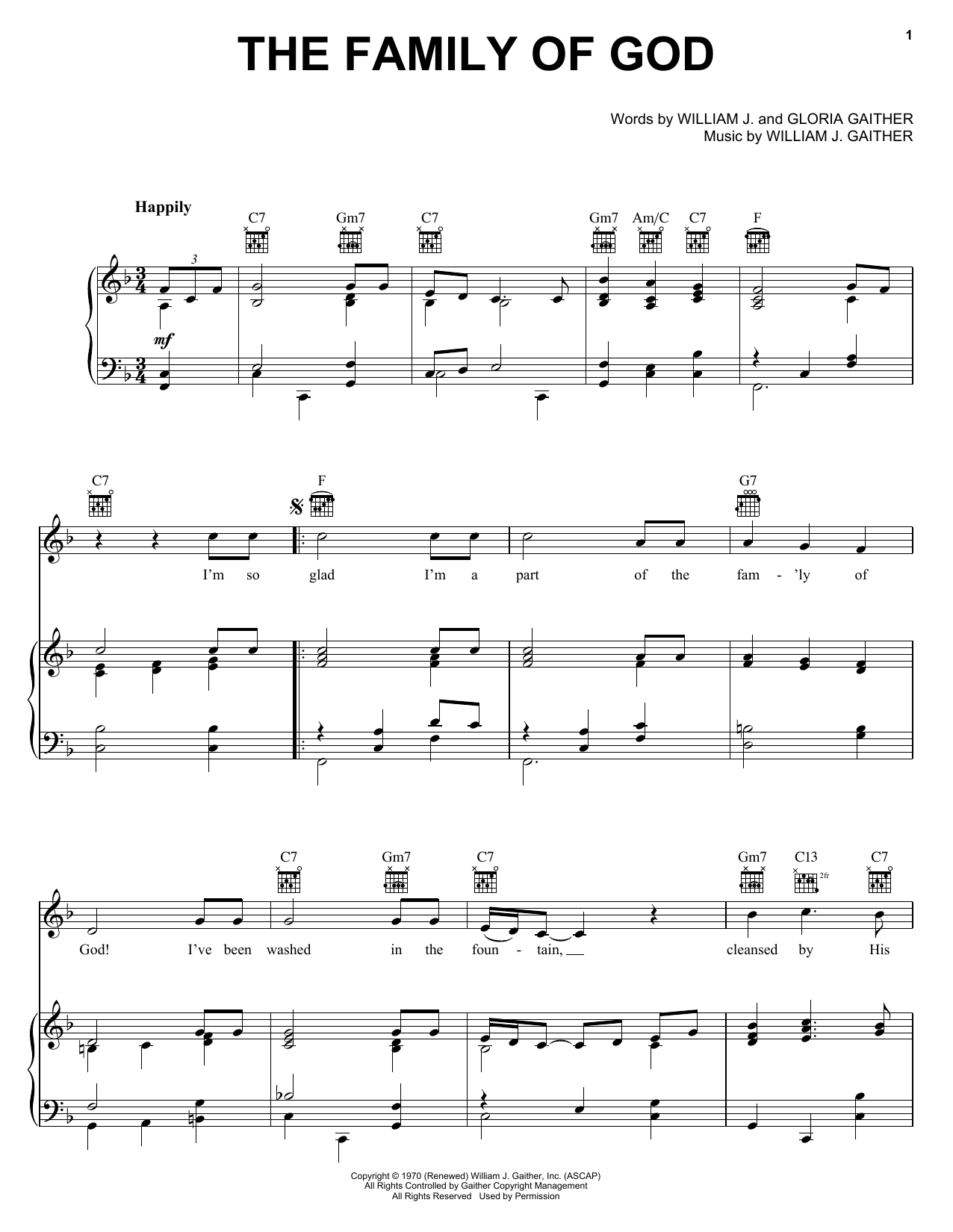Bill Gaither - The Family of God Lyrics - elyricsworld.com