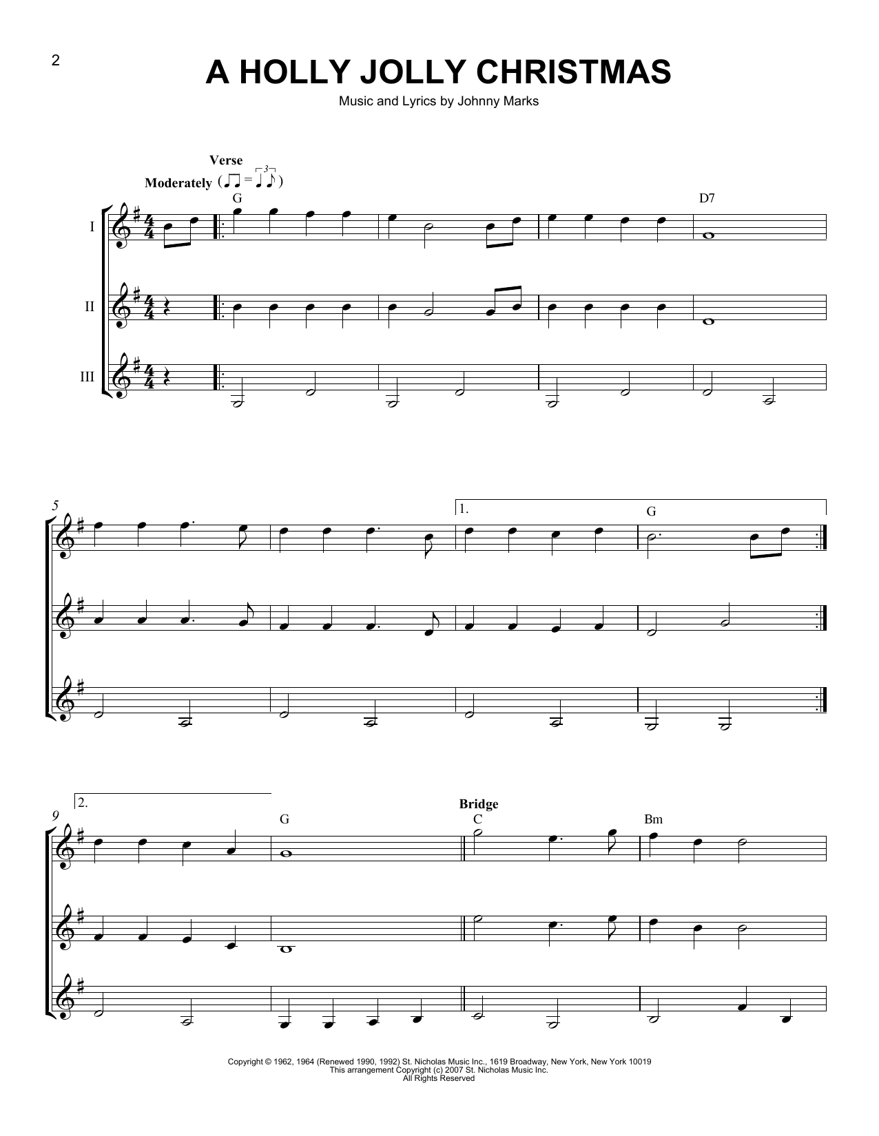 Rockin Around The Christmas Tree Chords