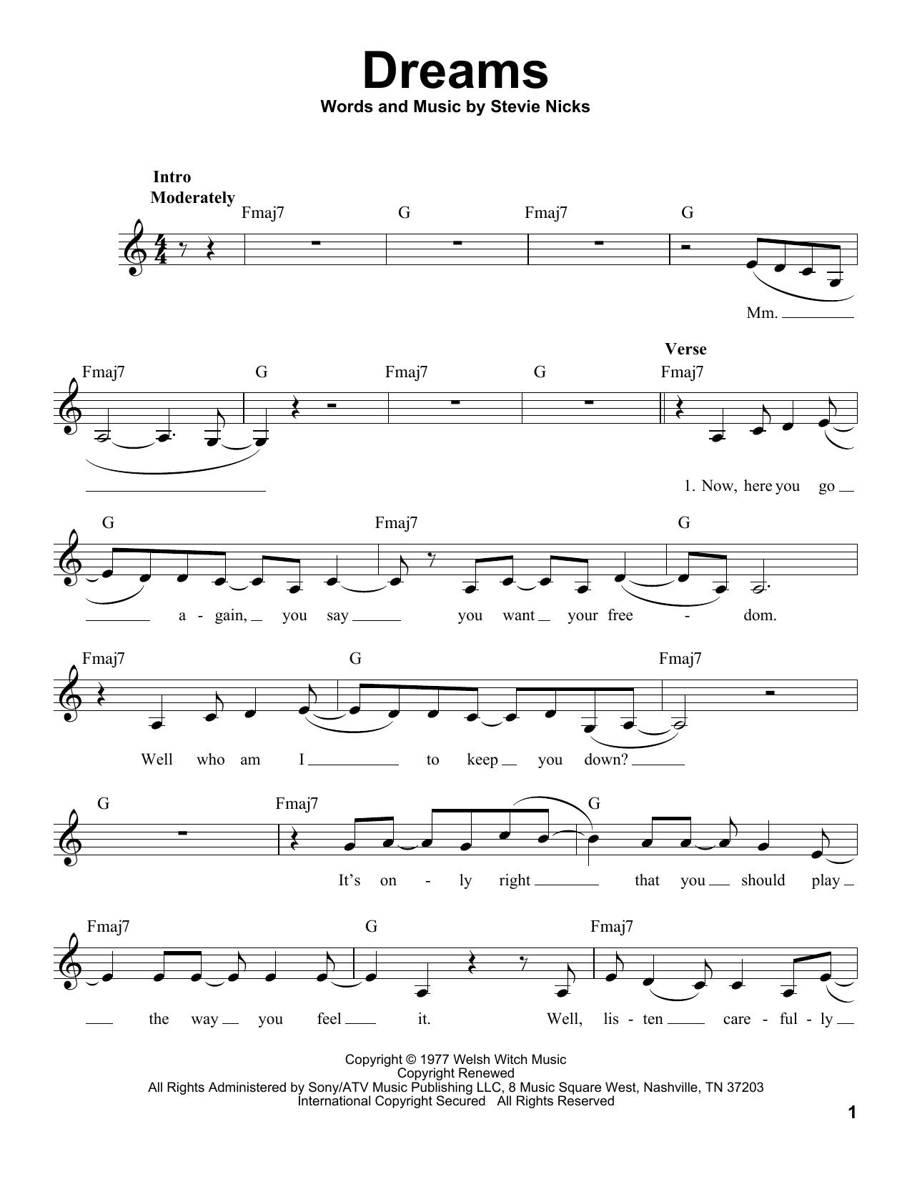 Sheet Music Digital Files To Print Licensed Fleetwood Mac Digital