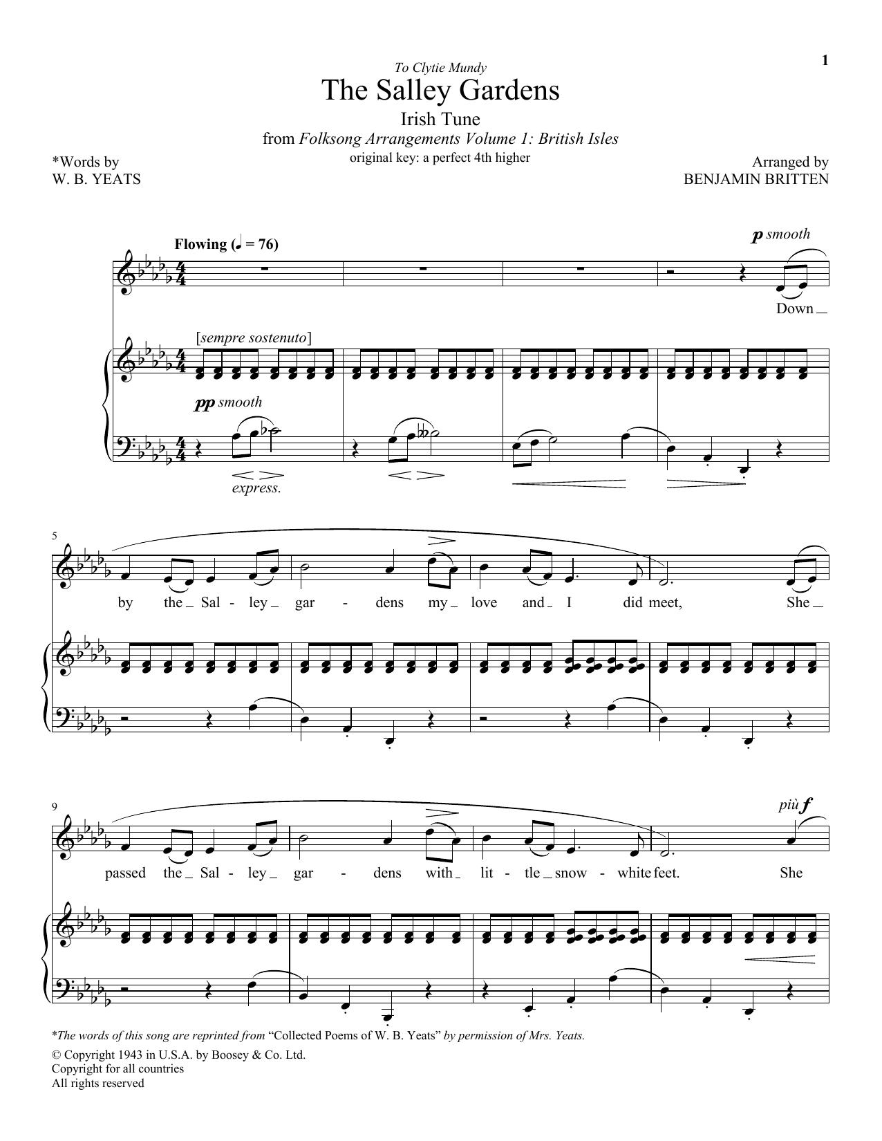 HL DDS 32840253KN5rADt8 - Down By The Salley Gardens Britten Sheet Music Pdf