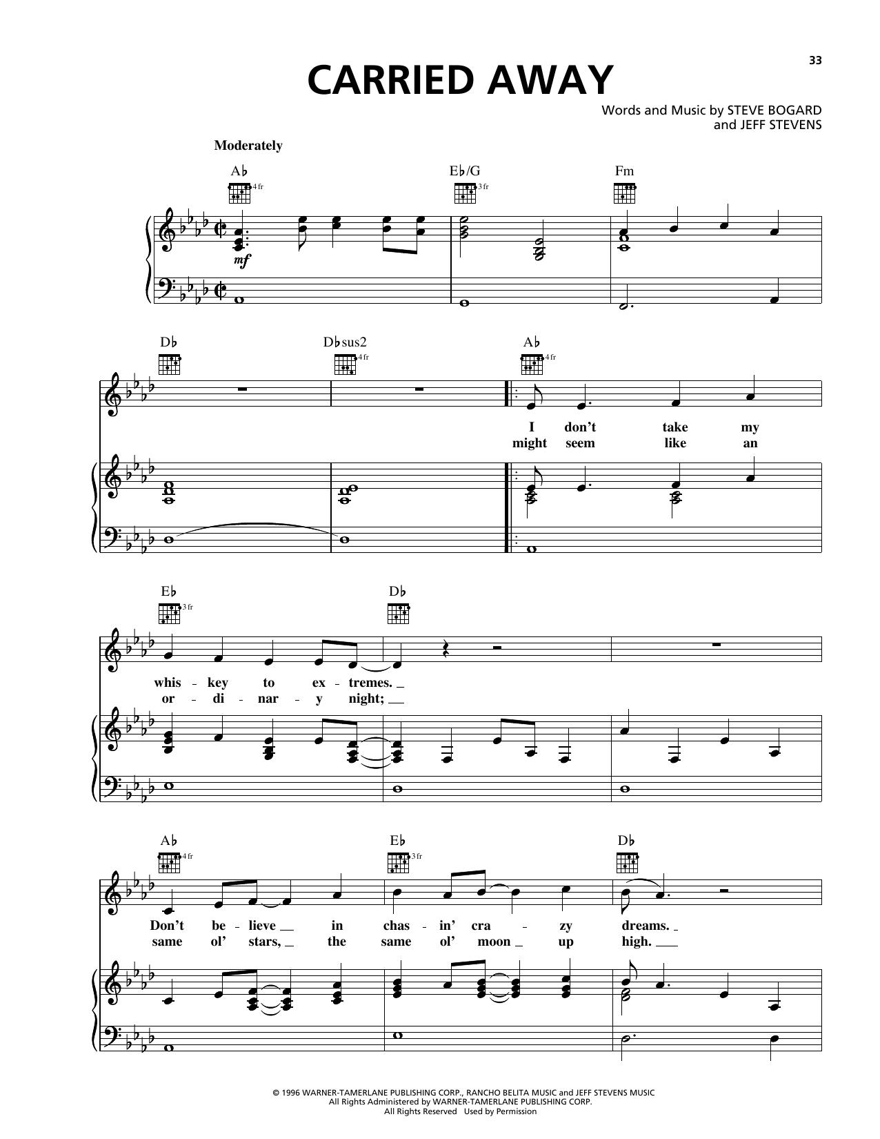 Sheet music digital files to print licensed george strait carried away hexwebz Choice Image