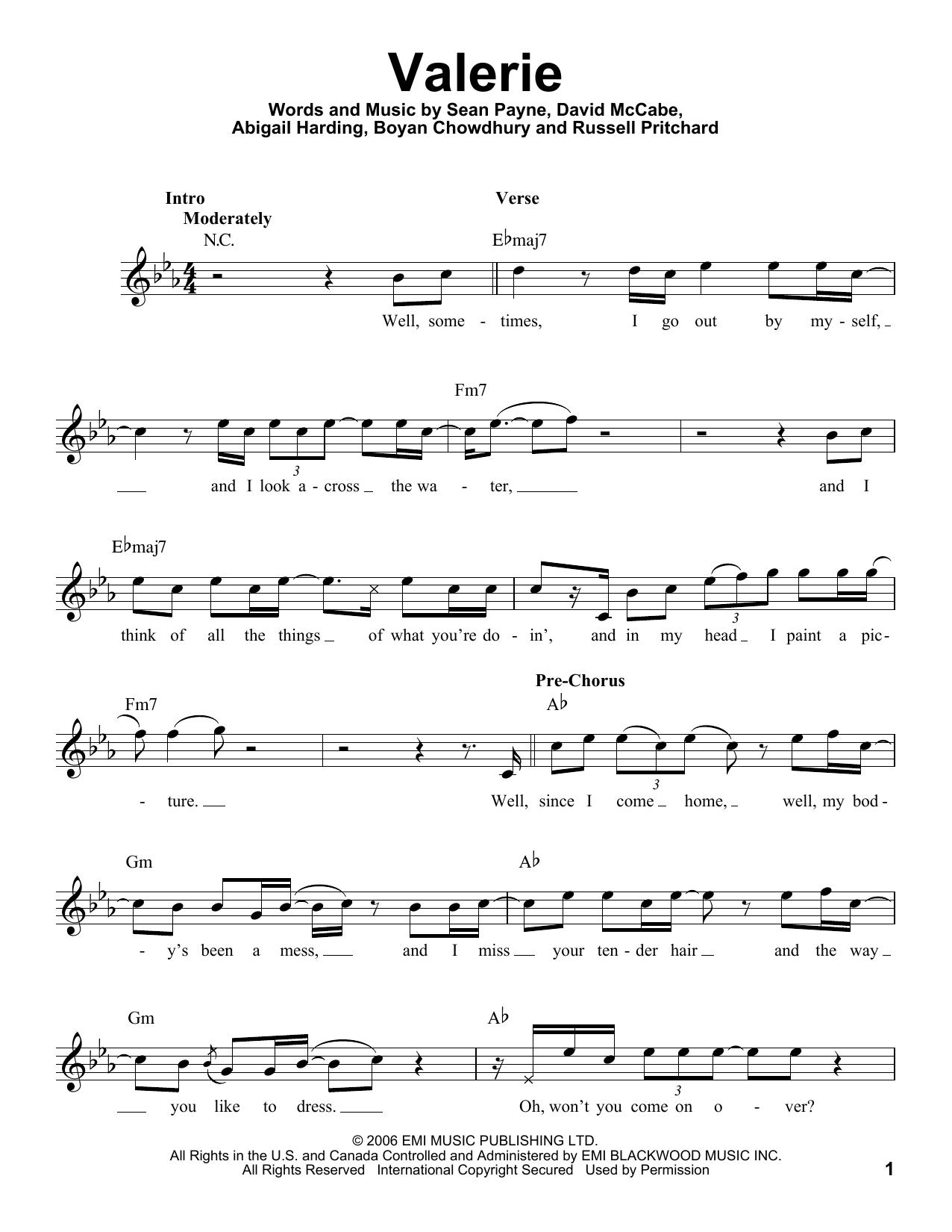 Sheet Music Digital Files To Print Licensed Amy Winehouse Digital