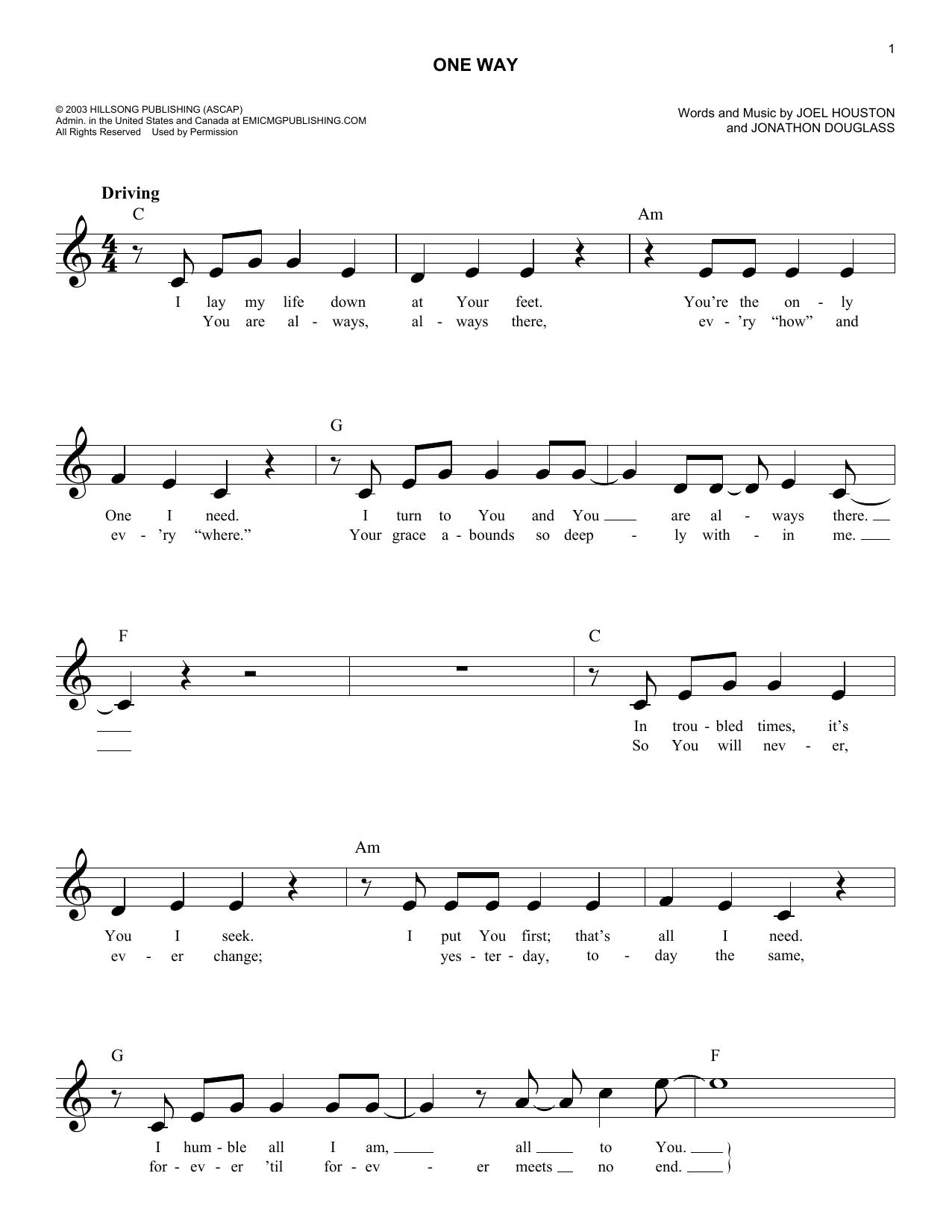 Sheet music digital files to print licensed joel houston digital one way hexwebz Images