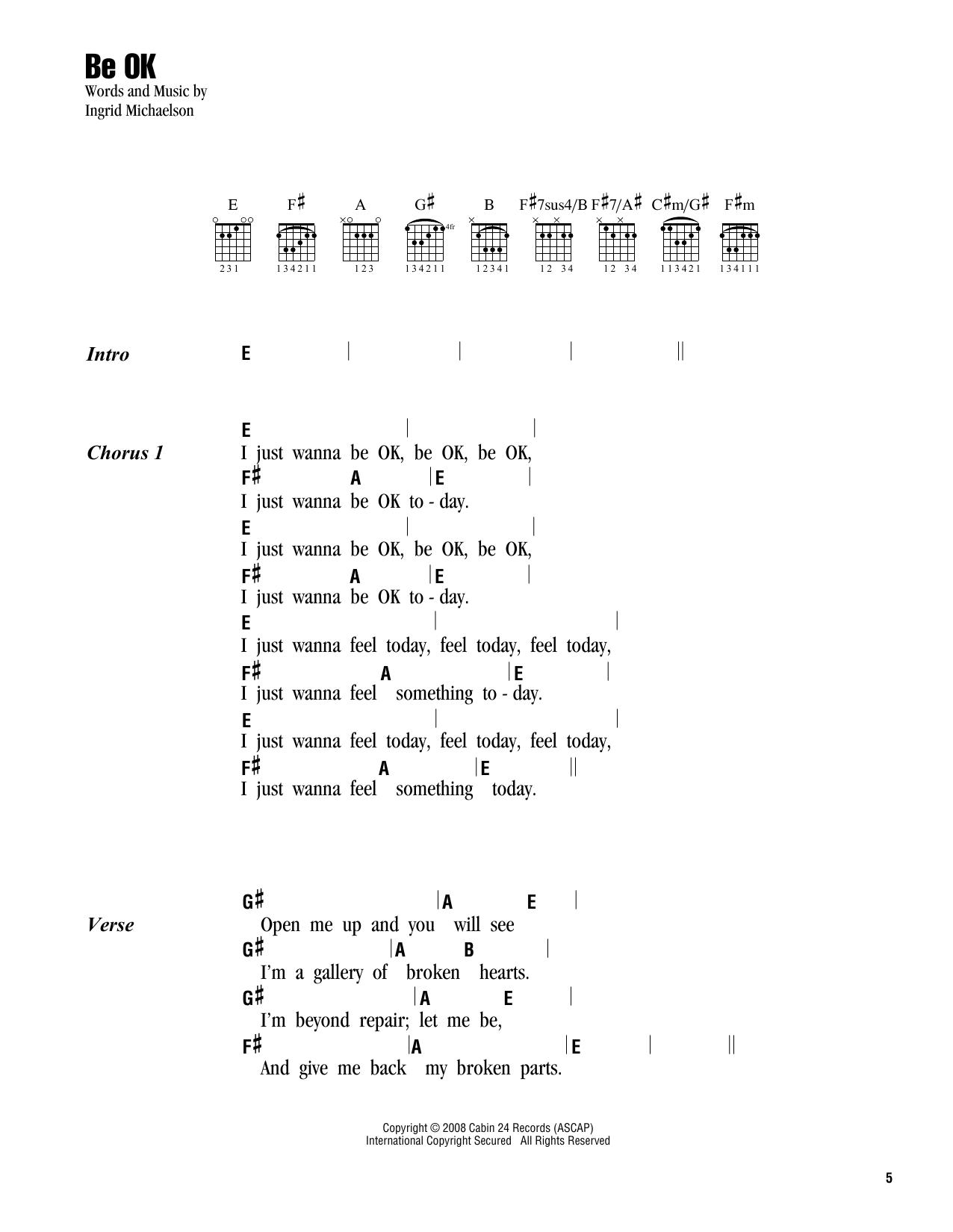 Robin Schulz - OK Lyrics | MetroLyrics