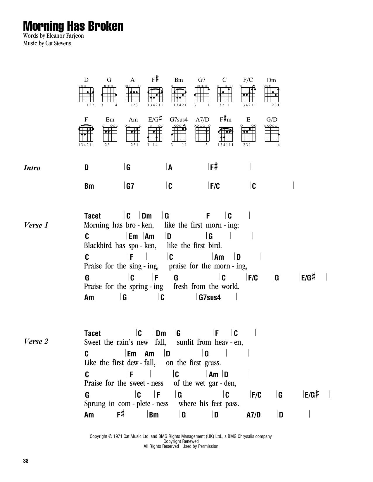 Sheet Music Digital Files To Print Licensed Yusuf Islam Digital
