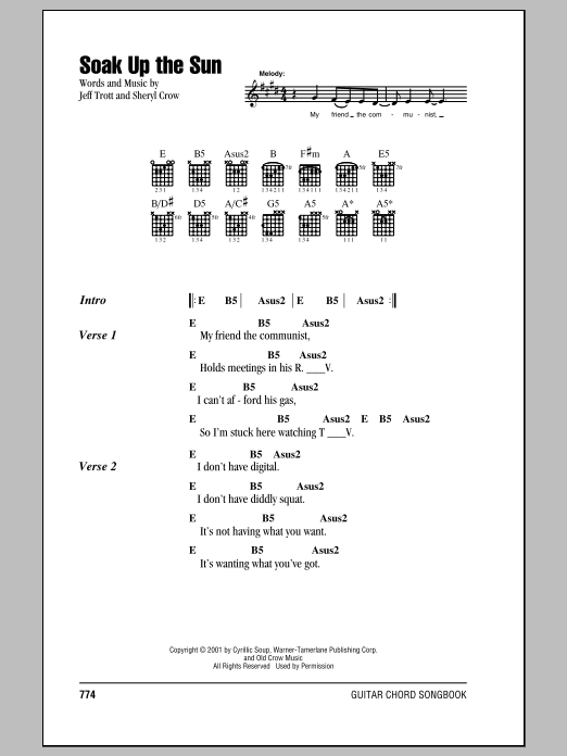 Guitar Chord Songbook White Pages Sheet Music - Hal Leonard - Prima ...