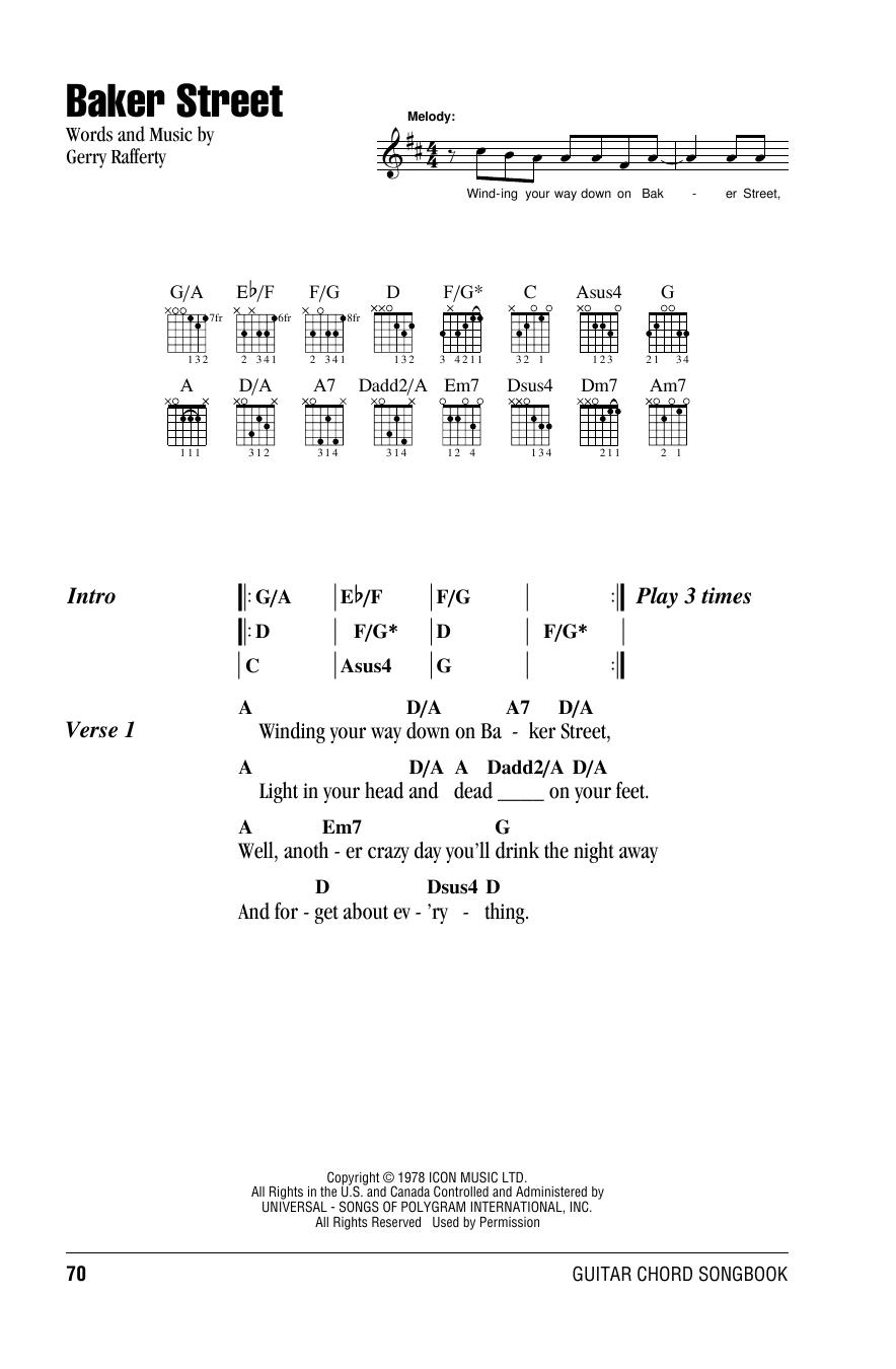 Lyrics containing the term: baker