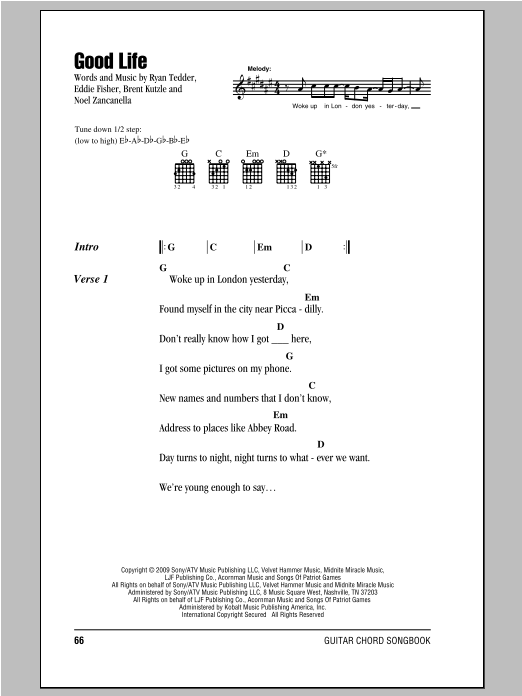 Sheet Music Digital Files To Print - Licensed Ryan Tedder Digital ...