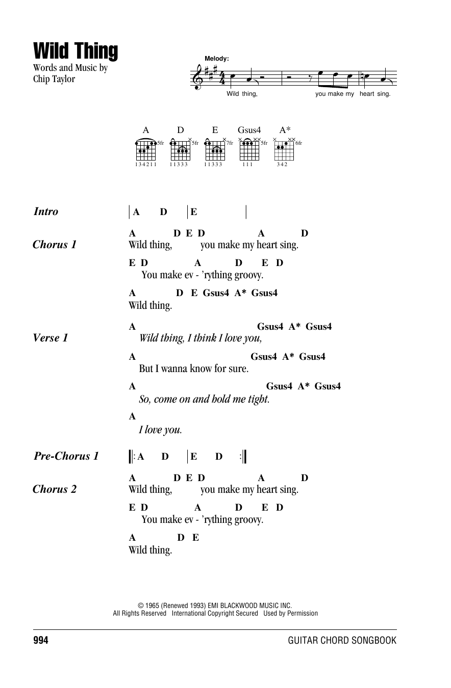 Sheet Music Digital Files To Print Licensed Chip Taylor Digital