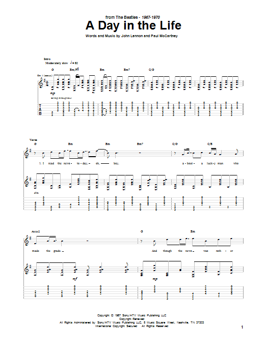 Sheet music digital files to print licensed the beatles digital