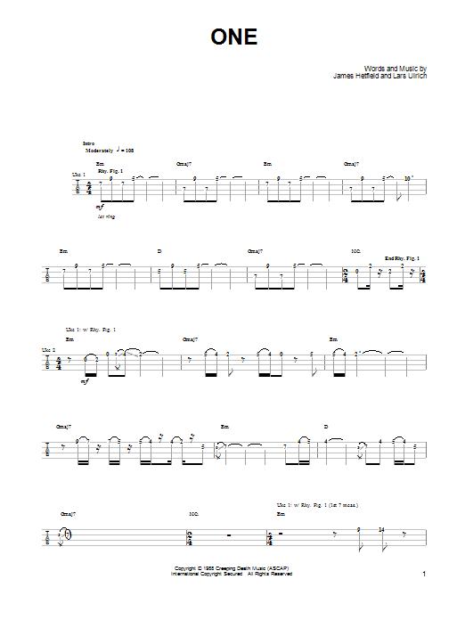Sheet Music Digital Files To Print Licensed James Hetfield Digital