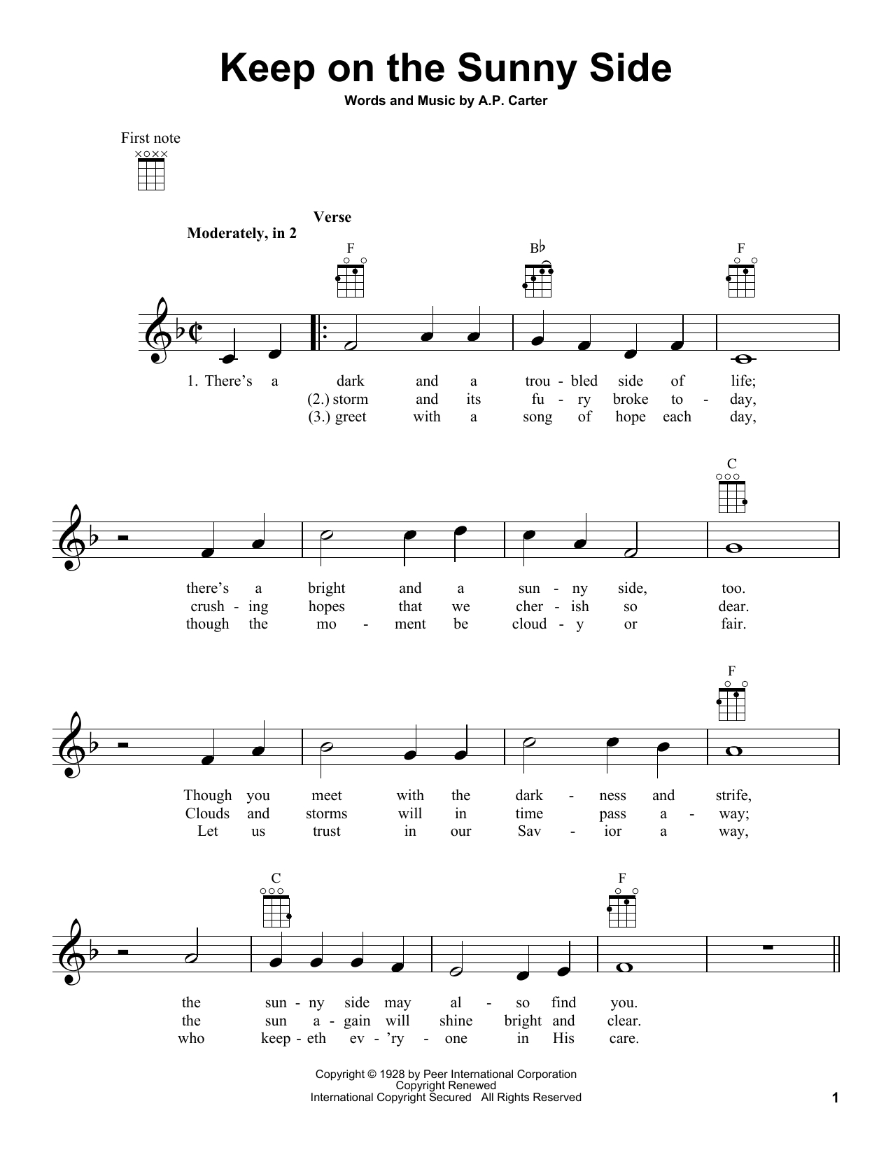 Sheet Music Digital Files To Print Licensed The Carter Family