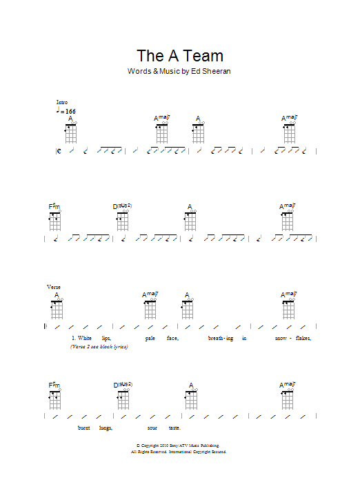 Ukulele : ukulele chords for hey soul sister Ukulele Chords and ...