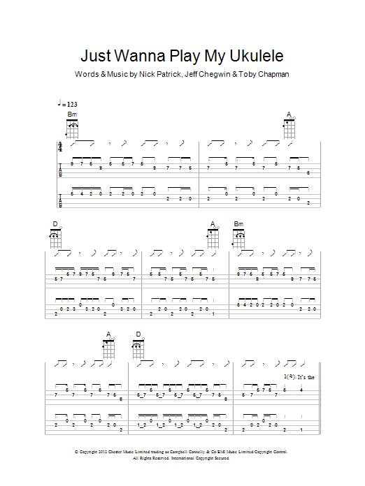 The Ukuleles - Search Results : Sheet Music Direct