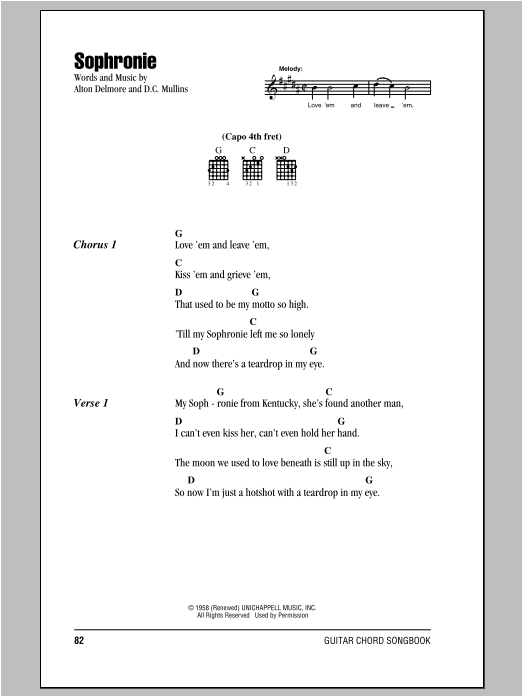 Sophronie Sheet Music