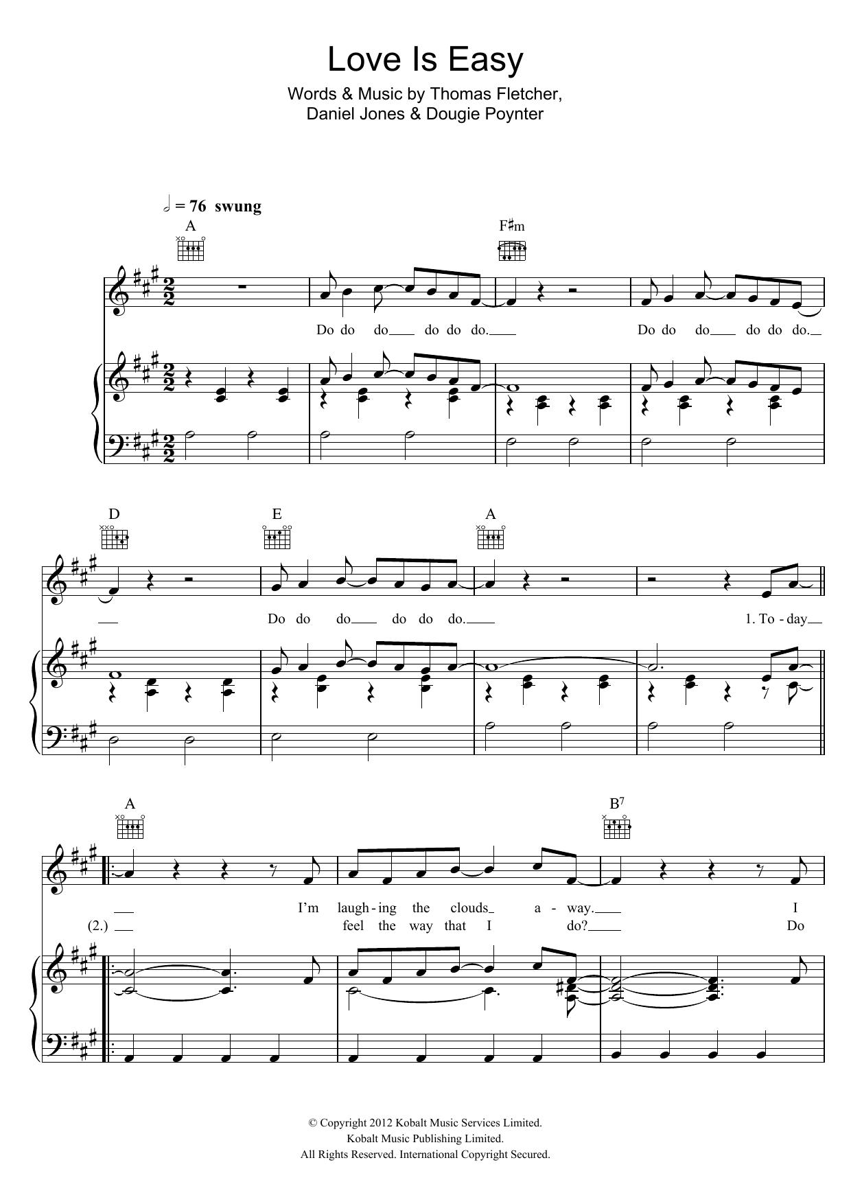 Sheet Music Digital Files To Print Licensed Mcfly Digital Sheet Music