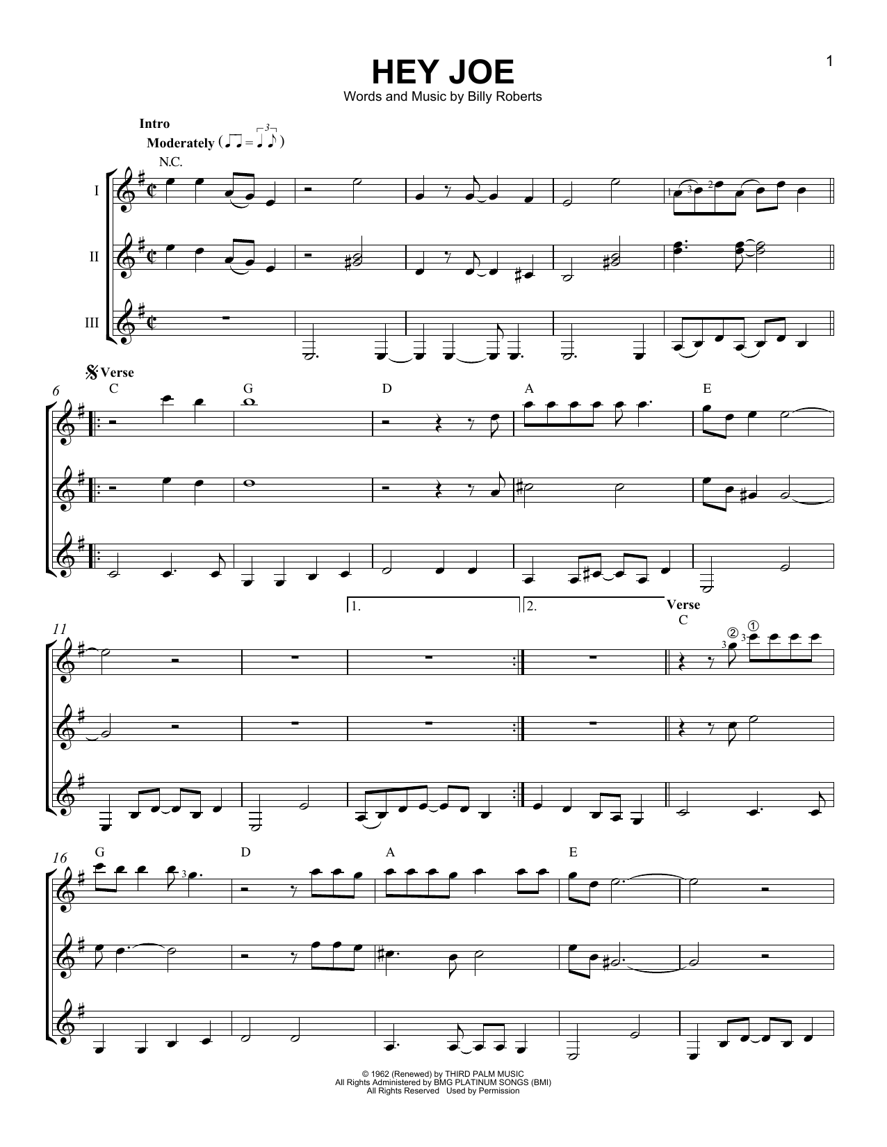 Sheet Music Digital Files To Print Licensed Billy Roberts Digital