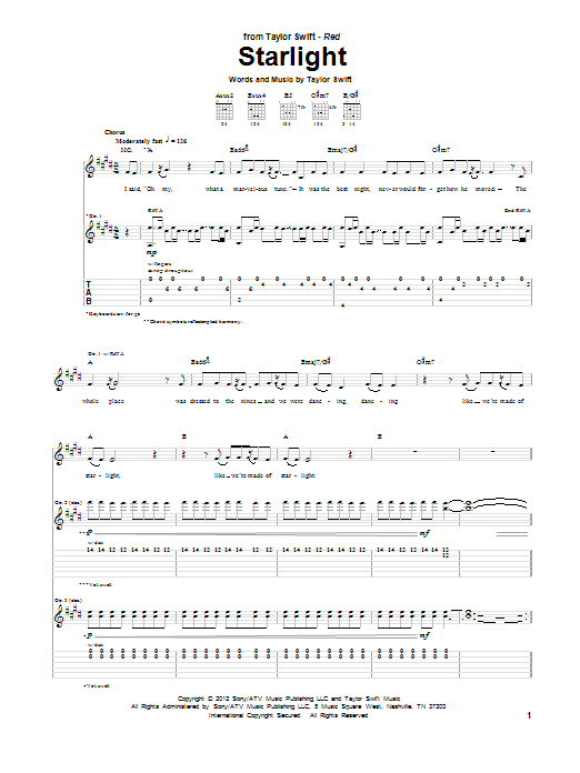 Modern Starlight Muse Piano Chords Picture Collection - Beginner ...
