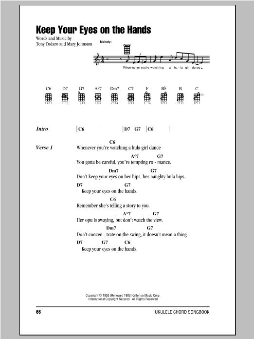 Sheet Music Digital Files To Print Licensed Ukulele Chordslyrics