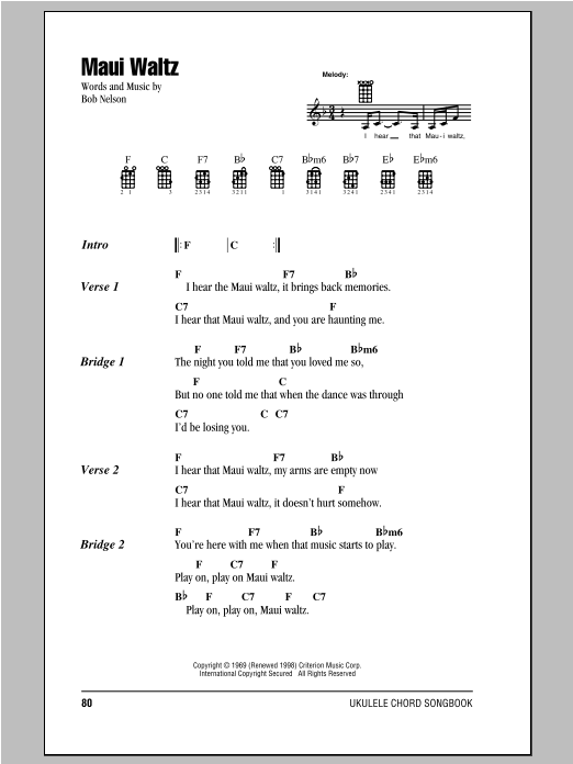 Sheet Music Digital Files To Print Licensed Bob Nelson Digital