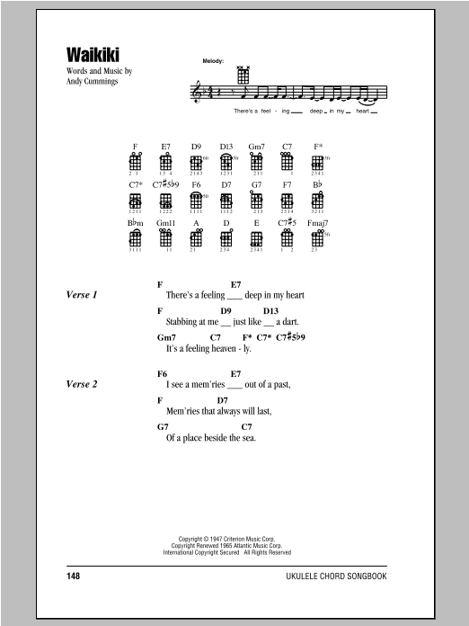 Sheet Music Digital Files To Print Licensed Ukulele Chordslyrics