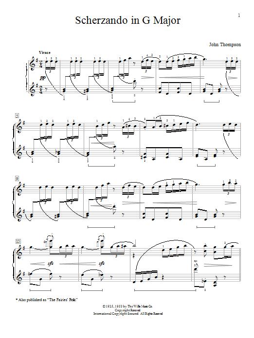 Classic Piano Repertoire - John Thompson - Intermediate to Advanced Level by John Thompson