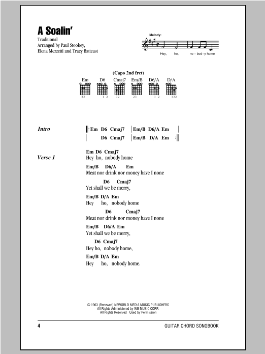 Sheet Music Digital Files To Print - Licensed Peter, Paul & Mary ...