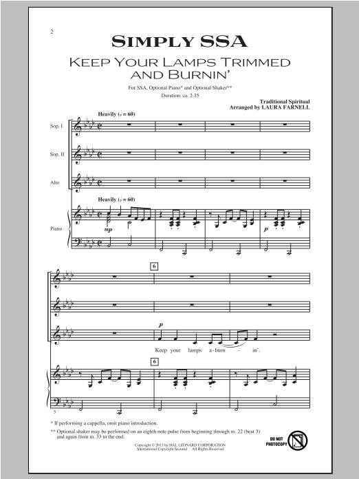 Partition autre Simply (Four Songs For Treble Chorus) de Laura Farnell - SSA