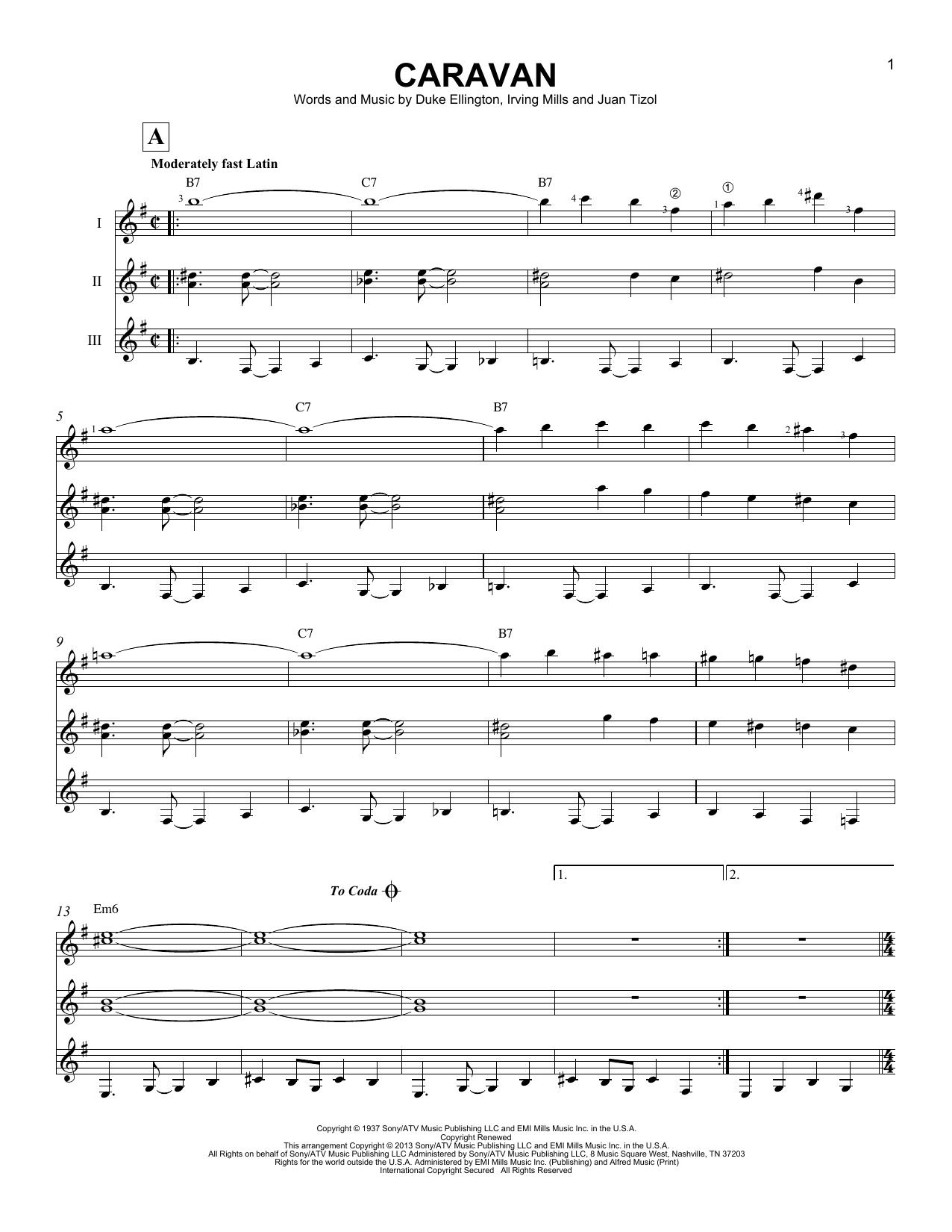Partition autre Caravan de Duke Ellington - Autre