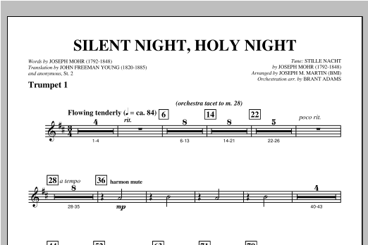 Silent Night Holy Night From Carols For Choir And Congregation