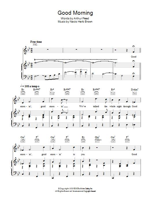 Sheet Music Digital Files To Print Licensed Arthur Freed Digital