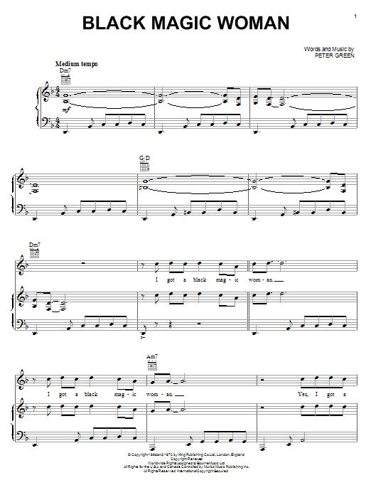 Sheet Music Digital Files To Print Licensed Peter Green Digital