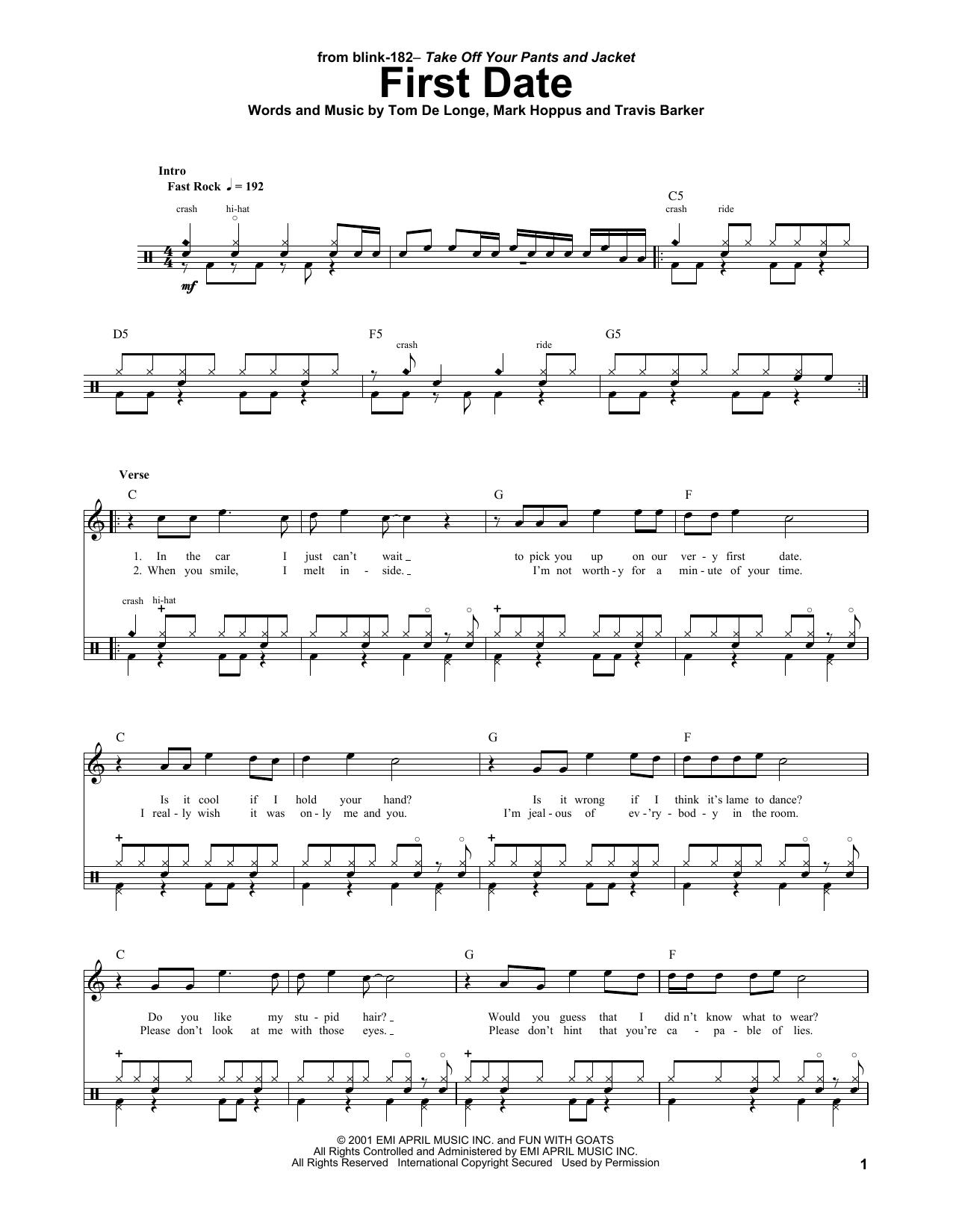 Sheet Music Digital Files To Print Licensed Mark Hoppus Digital