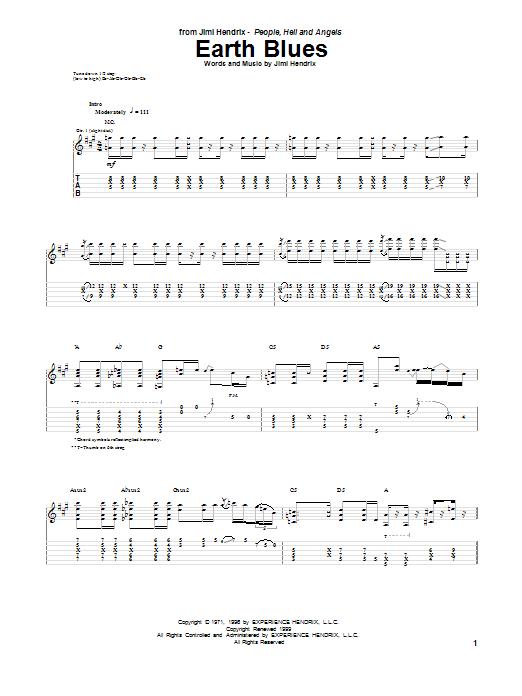 Earth Song Guitar Chords