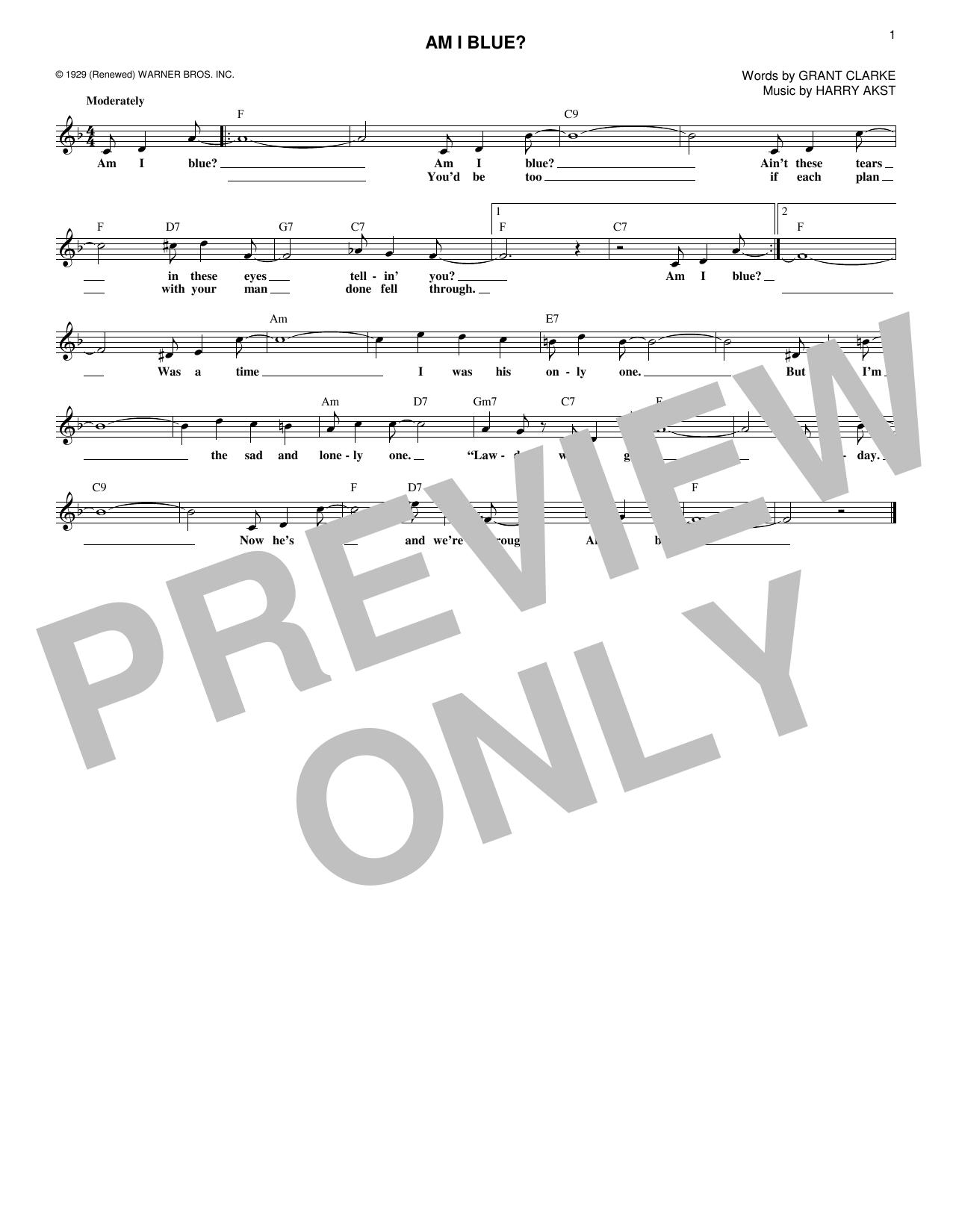 Sheet music digital files to print licensed george strait am i blue hexwebz Choice Image