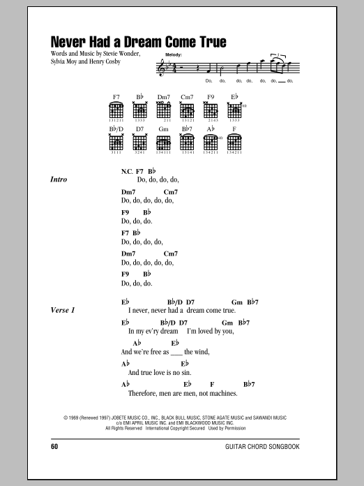 Sheet Music Digital Files To Print Licensed Stevie Wonder Digital