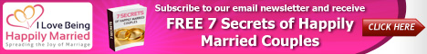 Get Free Seven Secrets of Happily Married Couples.