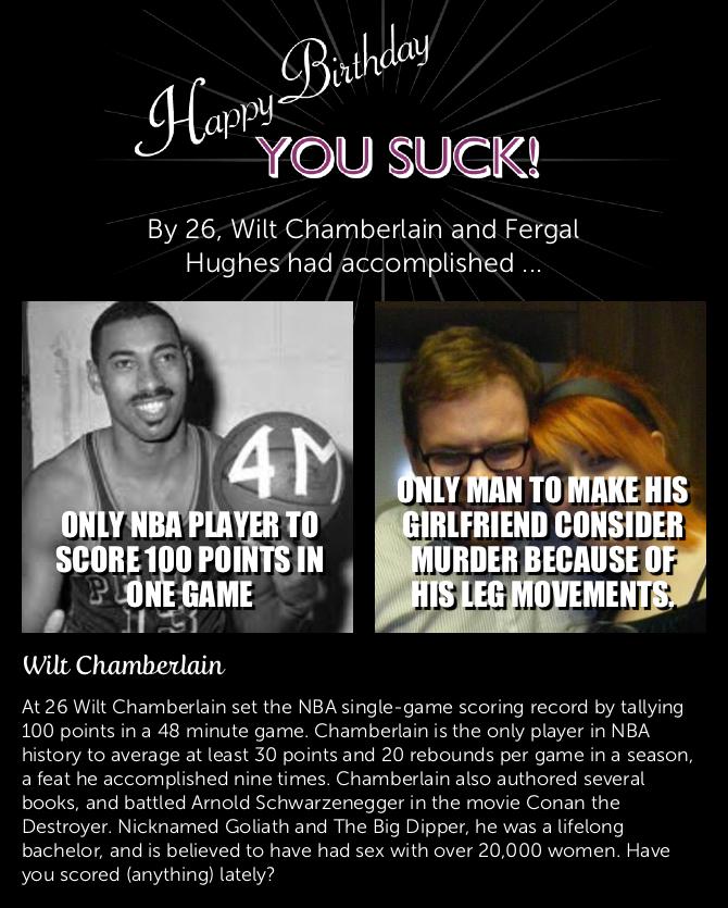 Girlfriends wilt chamberlain Wilt Chamberlain