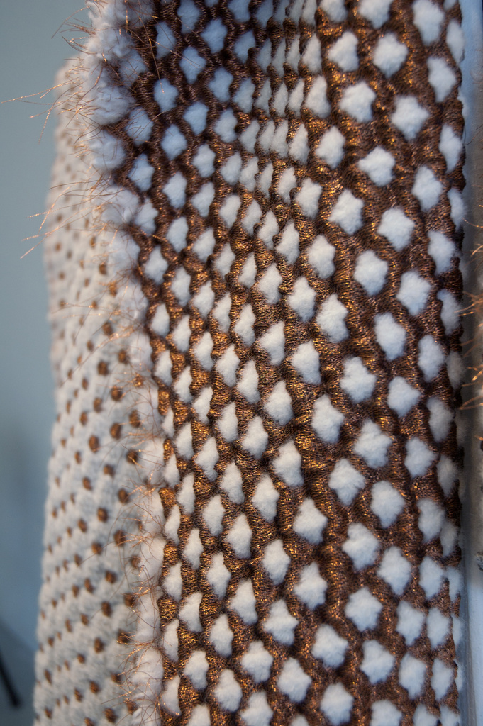 Copper and Wool Security Blanket