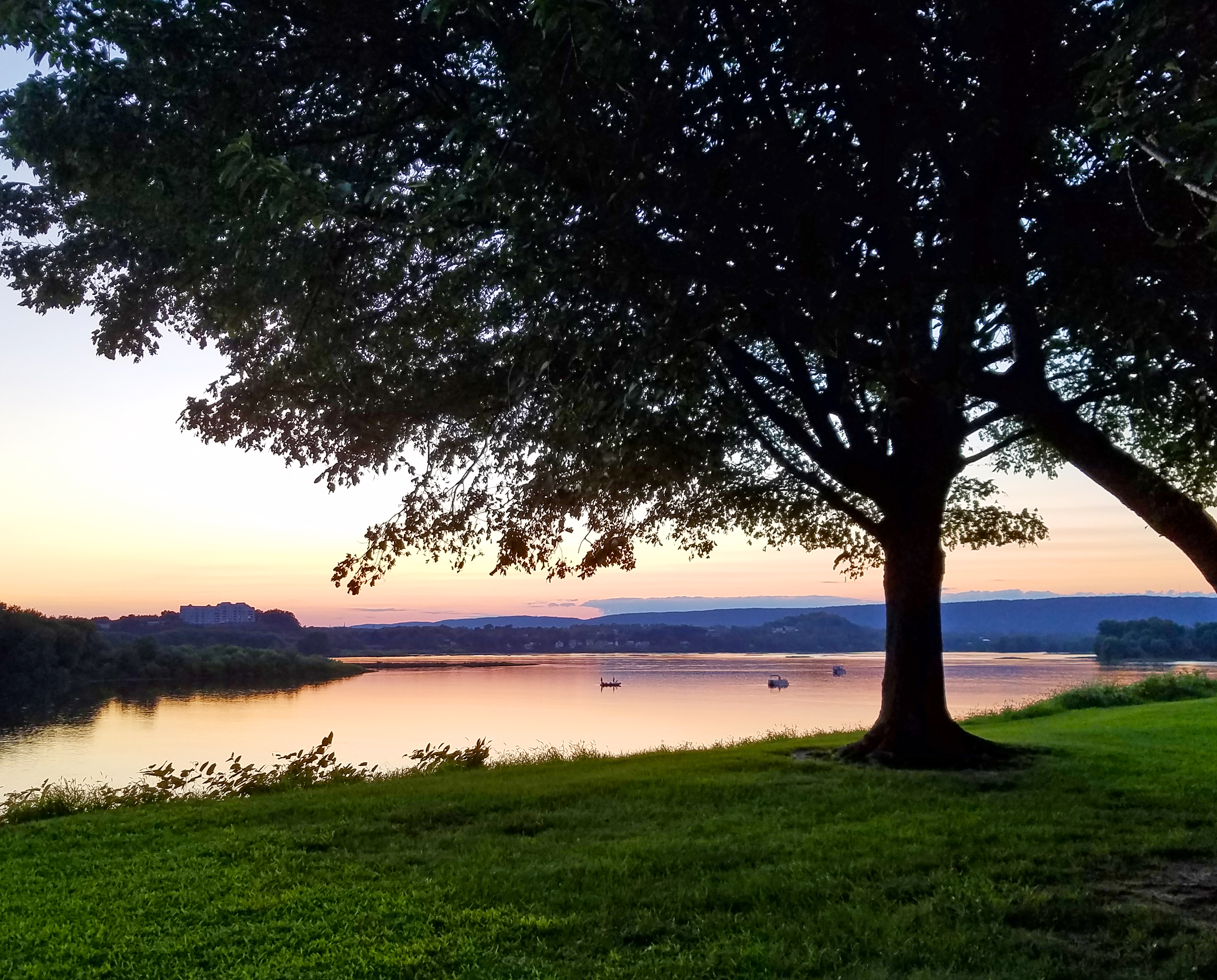 Sunset on the Susquehanna