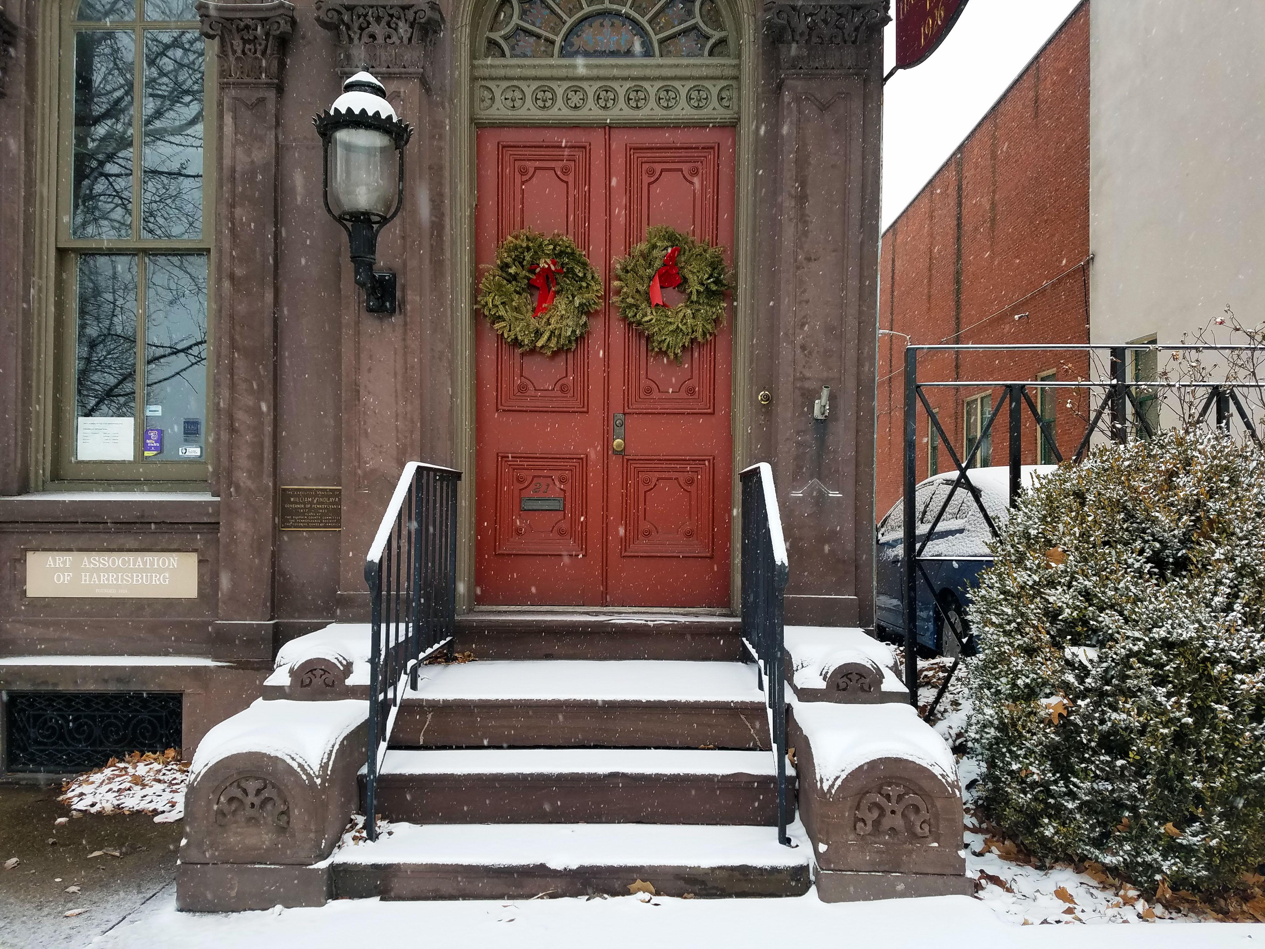 ... Harrisburg In The Winter ...