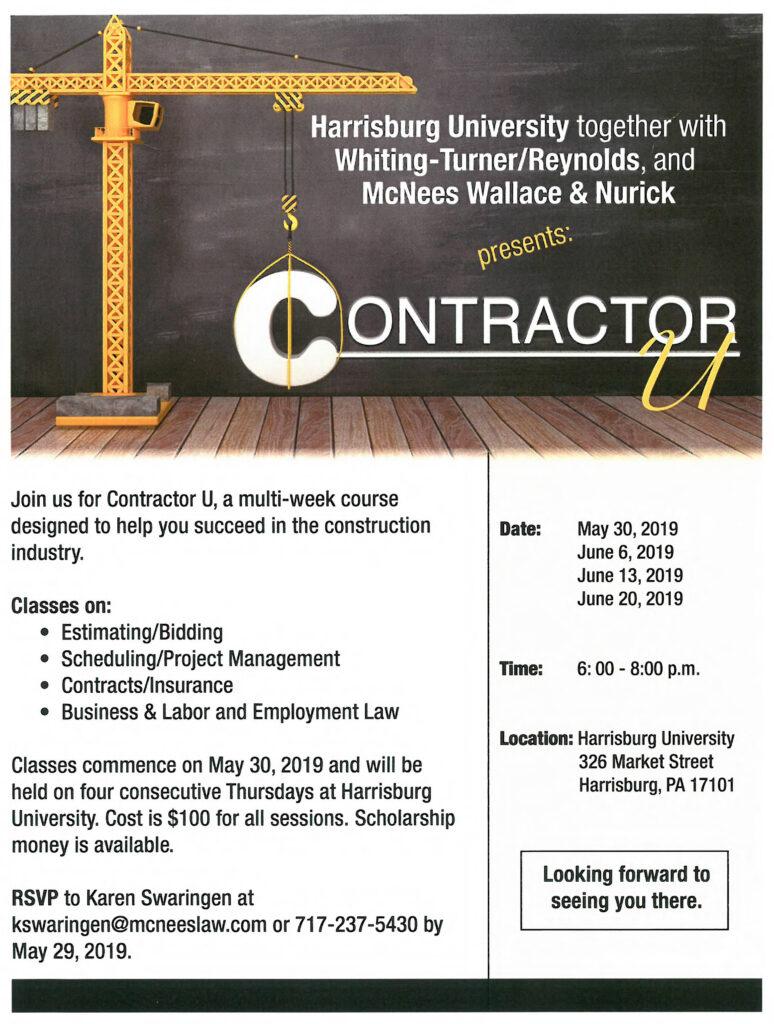 Contractor Course