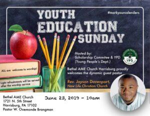 youth education sunday