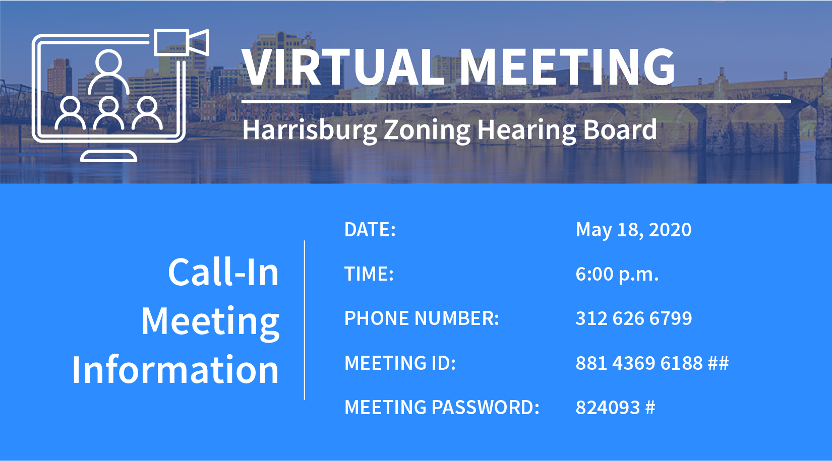 Zoning Board Meeting Info